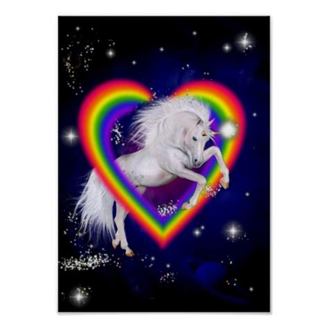 Rainbow Unicorn Gifts   T Shirts, Art, Posters & Other Gift Ideas   Zazzle