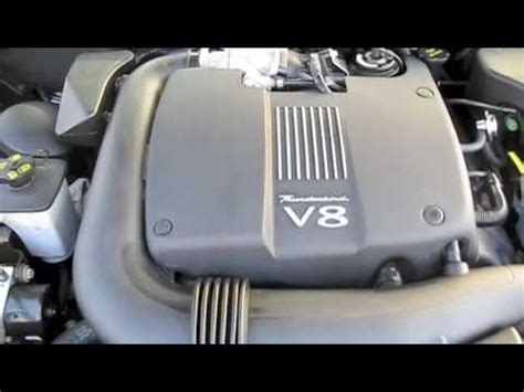 how cars engines work 2005 ford thunderbird engine control 2002 ford thunderbird start up engine and full tour youtube
