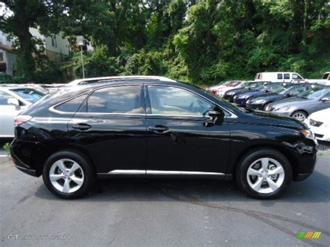 Obsidian Black 2013 Lexus Rx 350 Awd Exterior Photo