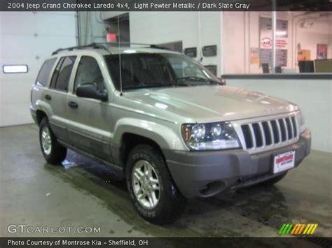 2004 Jeep Grand Light Light Pewter Metallic 2004 Jeep Grand Laredo