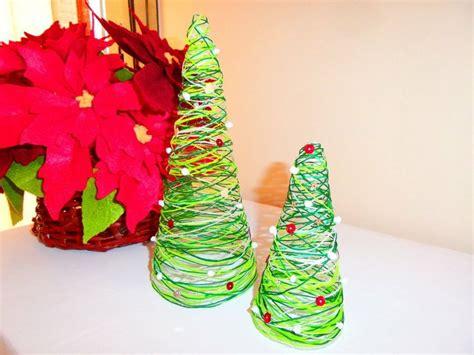 decorar la casa en navidad sin arbol decora tu casa con este mini 225 rbol de navidad de hilo 161 y