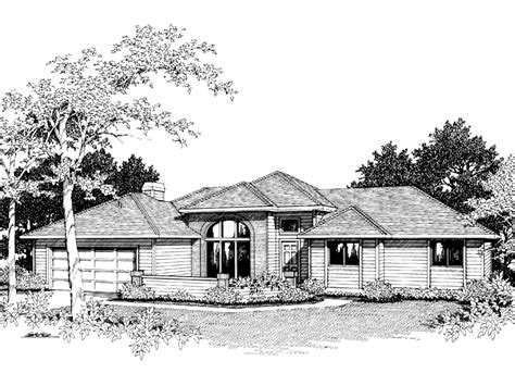 contemporary ranch home plans quincy modern ranch home plan 014d 0006 house plans and more