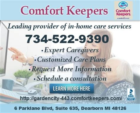 comfort keepers home health care 6 parklane blvd