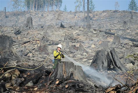 wildfire on the skagit wildfire on dnr land mostly contained all access