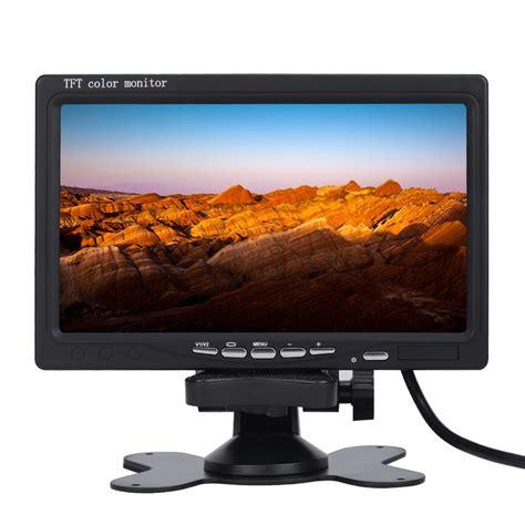 Tv Tabung 7 Inch 7 inch 16 9 car tft lcd analog tv stand alone monitor digital car rear view monitor lcd monitor
