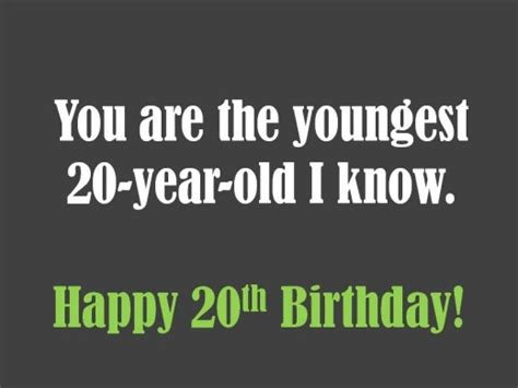 20th Birthday Quotes 20th Birthday Wishes What To Write In A 20th Birthday Card