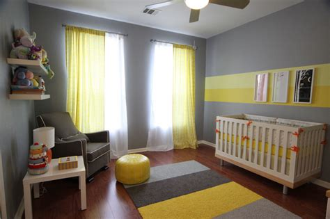 yellow and gray baby room eric s gray and yellow modern nursery project nursery