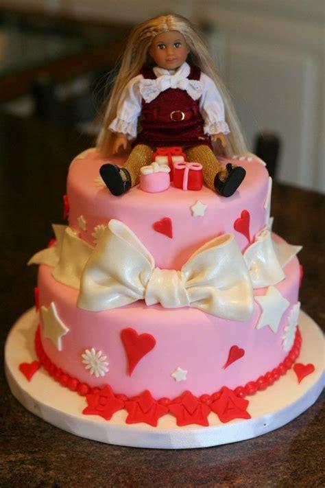 american girl birthday cake cakes ive  american girl birthday birthday cake girls
