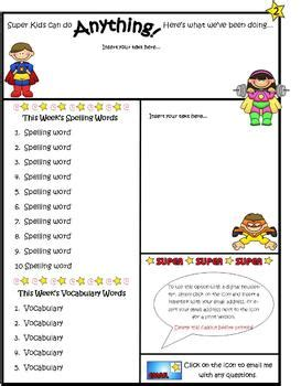 Newsletter Templates For Kids Children S Newsletter Template