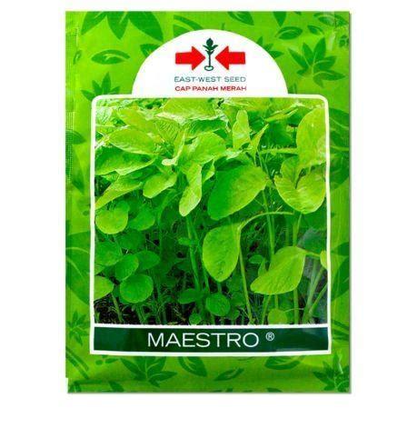 Benih Sayuran Cap Panah Merah benih bayam maestro panah merah jualbenihmurah
