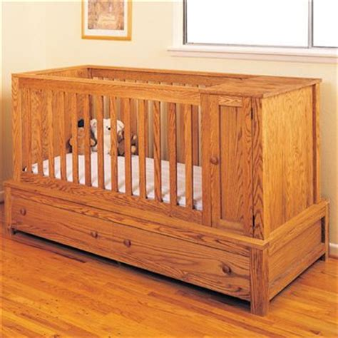 convertible baby crib woodworking plans woodworking