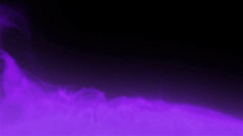 transparent backgrounds animated dense purple smoke or gas slowly rising against