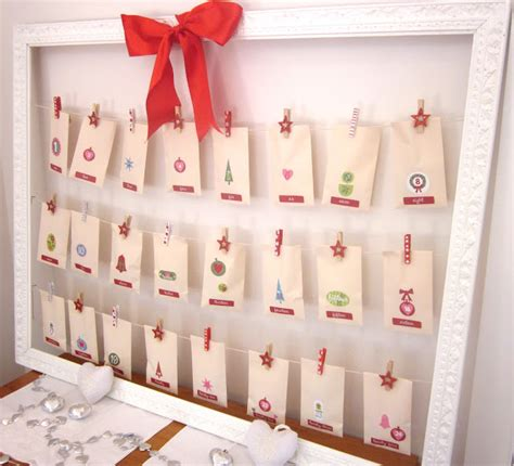Adventskalender Basteln Ideen by Advent Calendar Craft Ideas