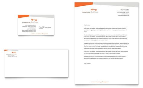 indesign business card template free real estate commercial real estate property business card letterhead