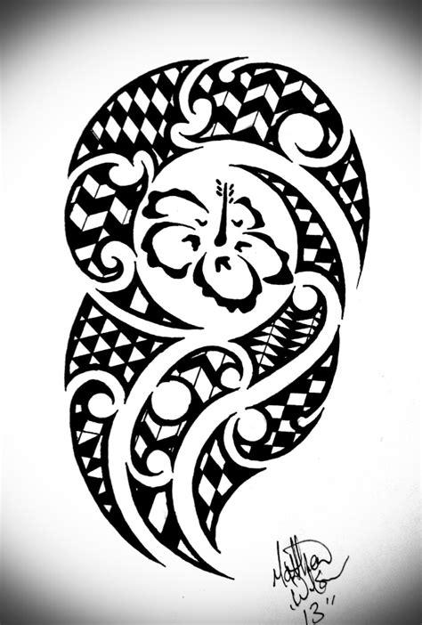 tribal pattern hawaiian hawaiian tribal by bytesback tattoos pinterest