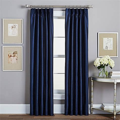 pinch pleat lined drapes spellbound pinch pleat rod pocket lined window curtain