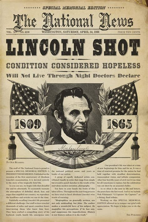 news report lincoln