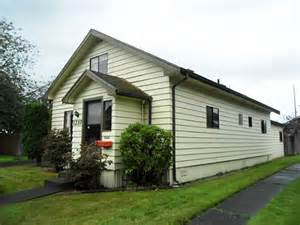 Bungalow Home Plans kurt cobain s childhood home for sale in washington for