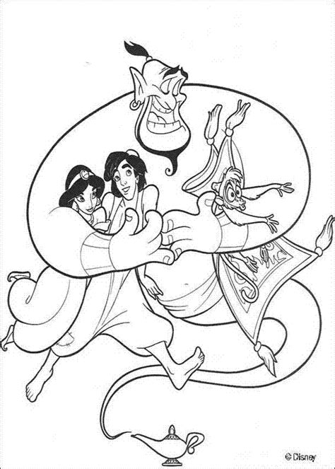 Color By Disney by Aladdin Disney Coloring Pages Print Free Printable
