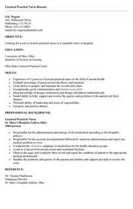 Lpn Resume Template by Best Photos Of Lpn Resume Sle Sle Lpn Resume