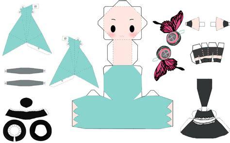 Miku Hatsune Papercraft - hatsune miku magnet papercraft by linda2220 on deviantart