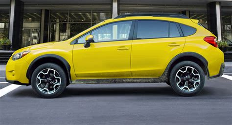 the only yellow subaru xv crosstrek on offer is limited to