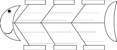 fishbone diagram template free blank fishbone diagram template calendar templates