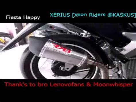 Knalpot Racing Yamaha Xeon Akrapovic Gt test knalpot exhaust racing rx8 vs tsukigi di yamaha xeon
