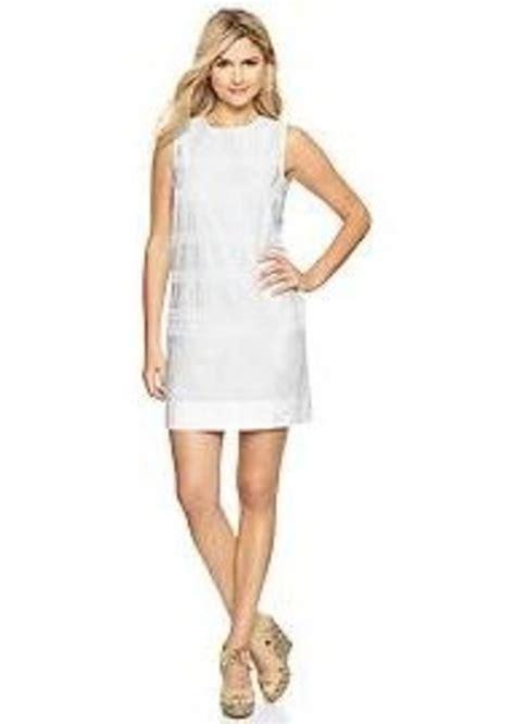 Gap Dress gap eyelet stripe dress dresses shop it to me