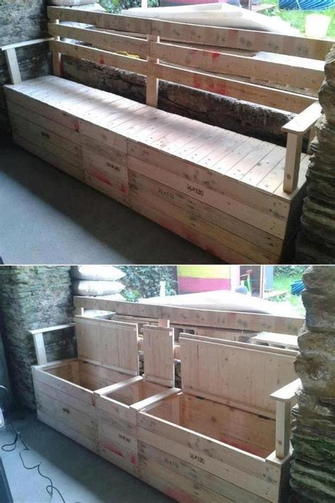 build a bench seat with storage how to build an outdoor bench seat with storage