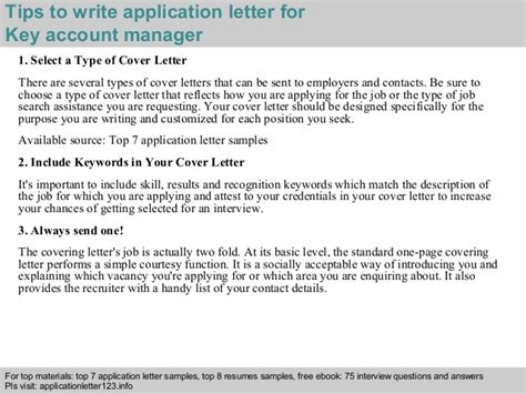 application letter for accounting manager key account manager application letter