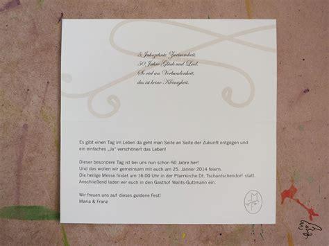 Einladungskarten Zur Goldenen Hochzeit by Einladungskarten Goldene Hochzeit Einladung Zum Paradies