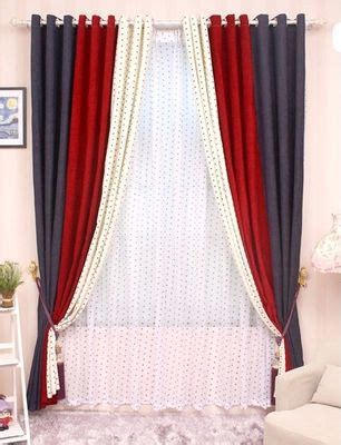 red and white bedroom curtains aliexpress com buy cl lss 040 high grade solid chenille