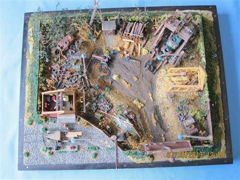 junk yardnostalgic fantasy diorama conversions