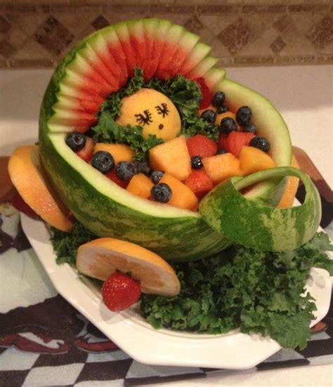 Baby Shower Fruit Basket by Baby Shower Fruit Basket So Sweet Treats