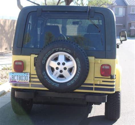 what year did jeep make 4 door wrangler 1989 jeep wrangler islander sport utility 2 door 4 2l