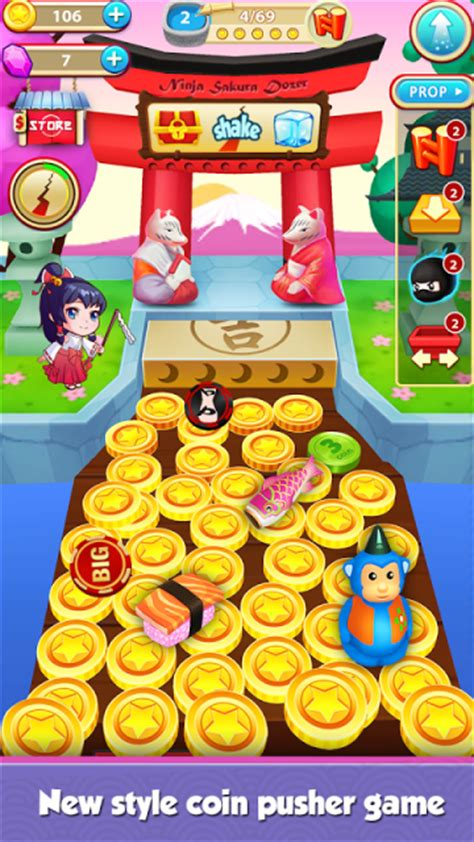 download game android coin dozer mod coin mania ninja dozer download apk for android aptoide
