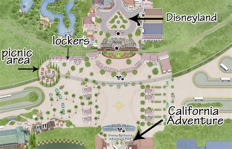 map  hotels   street  disneyland entrance