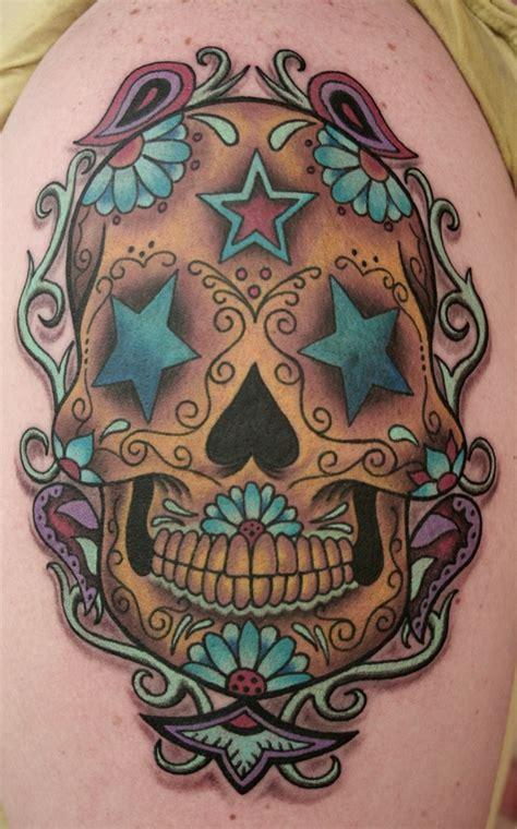 21 Inspiring Sugar Skull Tattoos My Next Tattoo Sugar Skull Tattoos