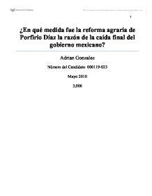 Extended Essay Title Page Exle by La Revolucion Mexicana Ib Extended Essay International Baccalaureate History Marked By
