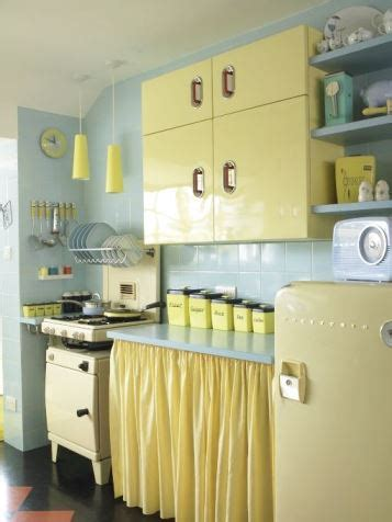 yellow vintage kitchen the 1950s vintage english rose kitchen kate beavis
