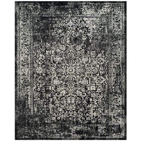 10 X 10 Black Area Rug - safavieh farrah gray black 10 ft x 14 ft area rug