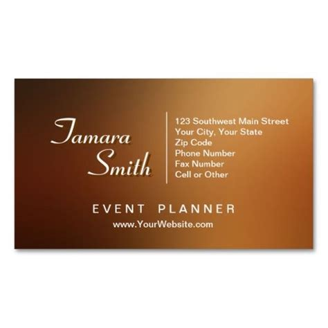 event management business card template 17 best images about event planner business card templates