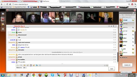 Free men webcam chat