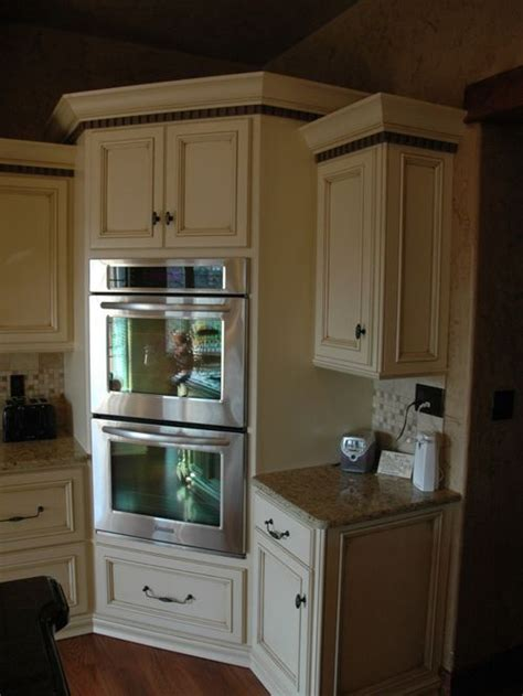 Oven Cabinet Design by Corner Oven Houzz