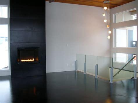 mode concrete modern and cool black concrete floor