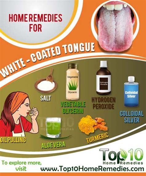 White Tongue During Detox by Home Remedies For A White Coated Tongue Healthy Tongue