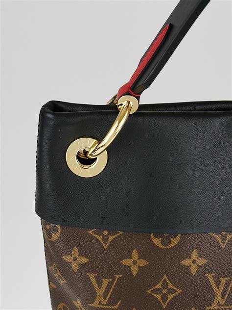 Louis Vuitton Tuileries Monogram Bag louis vuitton black monogram canvas tuileries hobo bag yoogi s closet