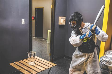 the anger room now you can smash things in toronto s rage room