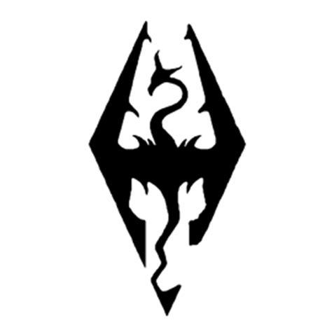 skyrim logo stencil  stencil gallery